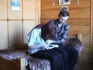 Jovem russa casal