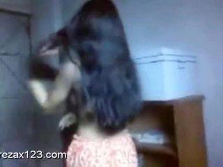 Bangladeshi 大 布布 女孩 salma 從 mirpur