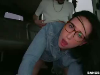 Scarlett S Wild Ride on the Infamous Bang Bus (bb14917)