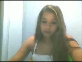 Steffany safada na webkamera part:1