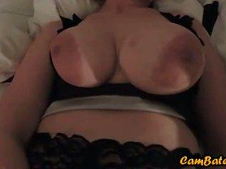 Sexxy Busty Chubby Girlfriend Anal Plug Dildo Play