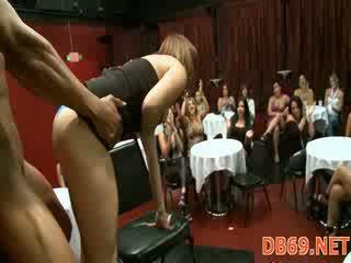 Strip dancer fucked di hen-party