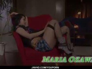 Sexy trekant porno handling sammen slim maria ozawa