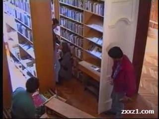 In de bibliotheek