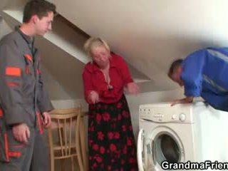 i vjetër, 3some, gjyshe