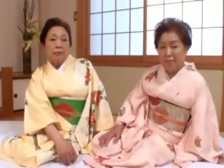 japonski, bbw, babica