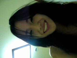 中國的 學生 性交 硬 和 長 由 她的 bf 大 的陰戶 lips 和 華麗 騎