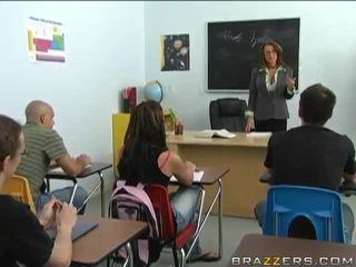 Big Titted Professor Lezley Zen Makes Love Her Disobedient Learner Keiran Lee