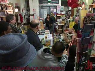 Slut Fisted in a Bookstore