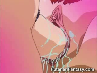 Manga travesti sexo a três!