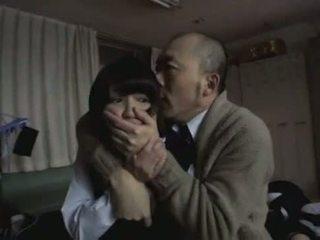Pervert professor knulling hans student