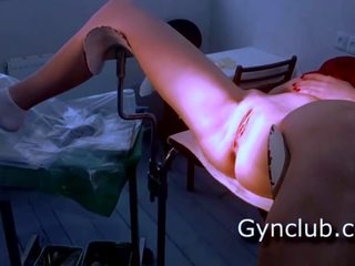 Full Gyno Exam Gerl on Gyno Chair, Free Porn 29