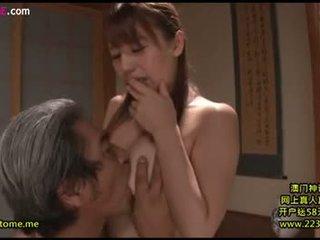 брюнетка, оральний секс, японський