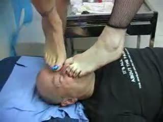 verpleegkundigen, latex, voeten