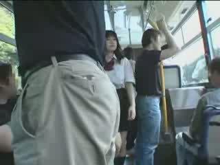 Jepang murid wedok and maniac in bis video