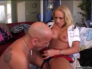 Hawt Blonde Doxy Receives Her Strap On Sucked On Then Ass Fucks!