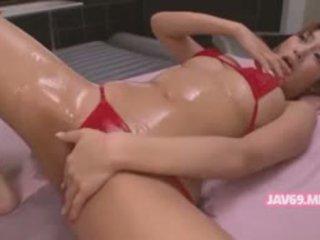 Ištvirkęs japoniškas mergaitė šūdas