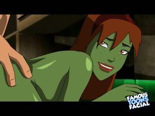 Justice league kön video-