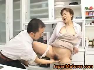 Hitomi kurosaki reif asiatisch schnecke part1