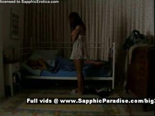 Delores i jo z sapphic eroticalesbian dziewczyny teasing