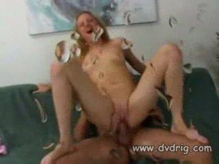 Blondīne pusaudze sindee jennings delicious sperma markas viņai boyfrie