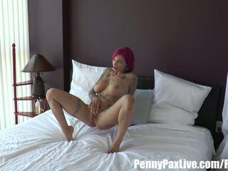 caucasian, vaginal masturbation, tattoos