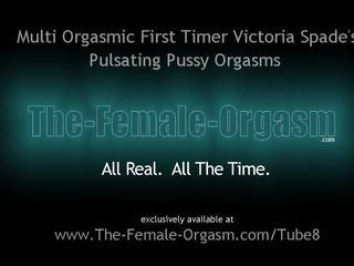Canadian Newbie Coed First Real Female Masturbation to Orgasm Shoot