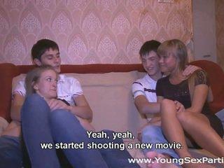 tiener sex, hardcore sex, groepsseks