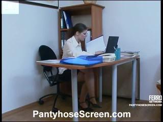 Hot Pantyhose Screen Movie Starring El...