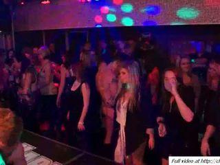 gruppe sex, jenter, dans