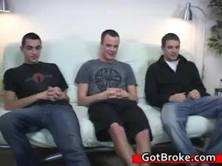 Cute Cj, Austin And Damien Gay Trio Three By Gotbroke
