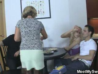 Meet My Sweet: Boyfriend's parents join up in free sex video