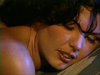 Screen saver of sexy girl