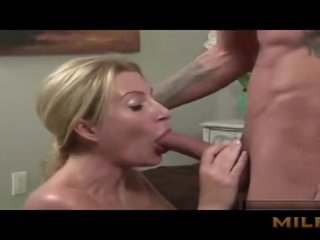 Mother Seduced Her Son With Boobs