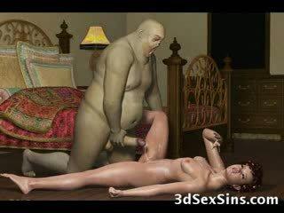 3d demons cazzo caldi babes!