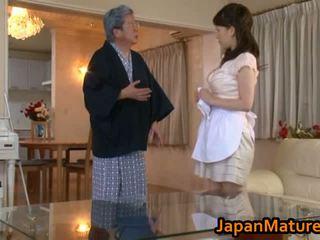 Zreli japonsko ženska jebemti tube