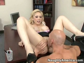 Kagney Linn Karter fucking & crying