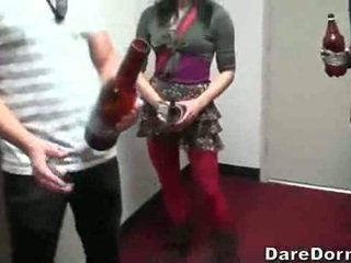 Hot Dorm Party With Sex