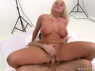 Horny Hawt Sadie Swede Is Slamming Sexy On A Meaty Cock Ready To Explode