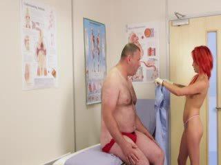 mooi voyeur mov, een naakt neuken, vol redhead film