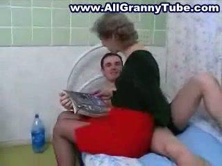 grandma real, watch russian watch, fun moms and boys full
