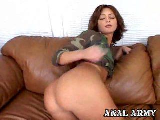 nhất brunette, cứng fuck, vui vẻ anal sex lý tưởng