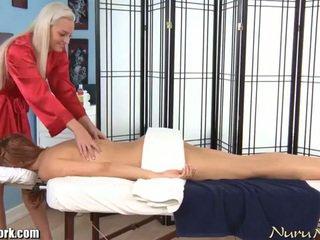 Sekswal electric lesbiyan masahe