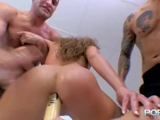 Cathy Bumped Rough By Bat In Brown Tunnel And Boner In Fuzz Box