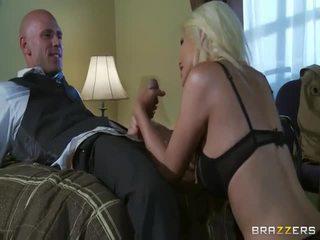 Grátis grande cavalinho loira em selvagem sexo ação