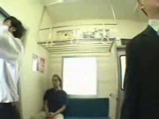 Subway grope