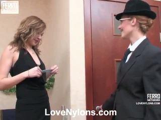 kwaliteit kut likken klem, nieuw lesbo video-, vol lez video-