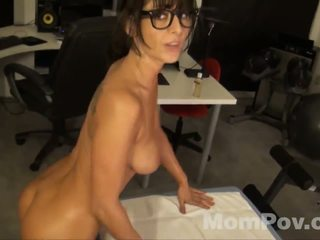 Awesome POV storty with milf office worker.