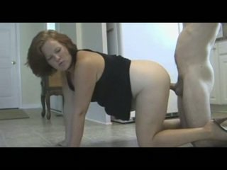 Mom Punishes Son With Piss & Creampie