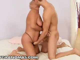 Lusty Grandmas: Grandma Cecily wants some hot young dick